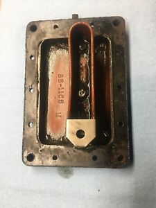 Wisconsin Model Ab Oil Pan Sump Base Plate Stationary Engine Vintage