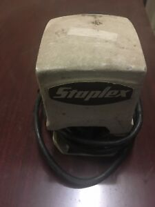Used Vintage Staplex Electric Stapler Sjm 1