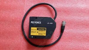 1pc Used Keyence Lk 081 Laser Displacement Sensor