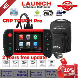 Launch Crp Touch Pro Car Diagnostic Scanner Tool Dpf Sas Oil Reset Full System