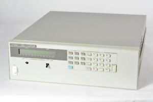 Hp Agilent 6651a System Dc Power Supply 0 8v 0 50a See Description