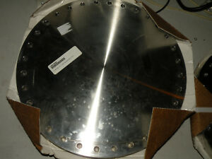 New High Vacuum Flange Cf Conflat 14 50 Blank Non Rot 1450 000n Nor cal