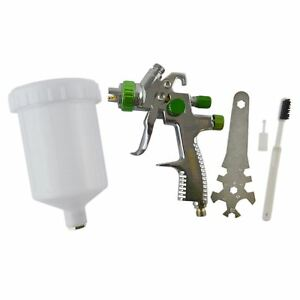 Lvlp Gravity Feed Air Spray Paint Gun With 1 4mm Nozzle 600ml Cup Capacity