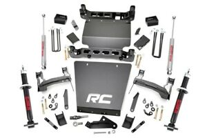 Rou 298 23 Rough Country 2014 2015 Chevy gmc 1500 7 quot Lift Kit W Shocks