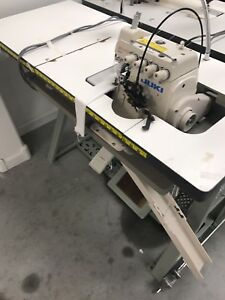 Juki Mo 6714s Industrial Serger Sewing Machine with Shearing Attachment