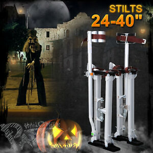 Professional Silver Drywall Stilts Tool To Install Sheetrock 24 40