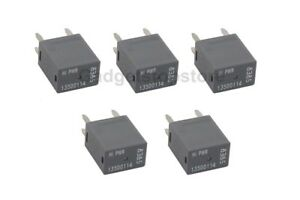 5 Pack New High Power 4pin Terminal Relays For Gm 13500114 8385 9815