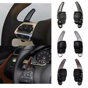 Steering Wheel Dsg Paddle Shift Extension Shifters For Vw Golf6 R Gti Durable