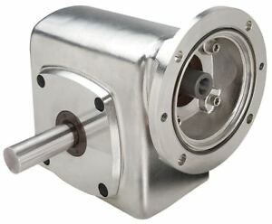 Boston Gear Washdown 316 Stainless Steel C face Speed Reducer Single Output