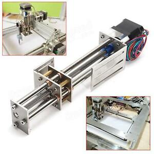 Z Axis Slide 3 Axis 150mm Diy Milling Linear Motion Cnc Engraving Machine New Us