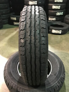 4 New St 205 75 15 Lrd 8 Ply Contender Tt868 Radial Trailer Tires