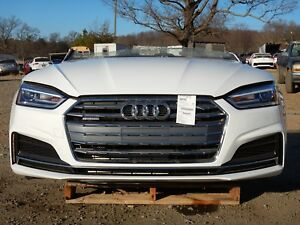 2018 Audi A5 S Line Front End Clip Nose 2 0t At Awd 77 Miles Nto Iihs Test Car