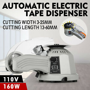 Zcut 2 Adhesive Tape Dispenser Tape Cutter Automatic Led Display Electric