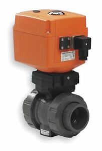 Gf Piping Systems Pvc Electronic Actuated Ball Valve 2 Pipe Size 100 230vac