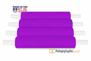 20 X 1000 Purple Extended Core Pallet Hand Wrap Packing Materials 90 Ga 28 Rls
