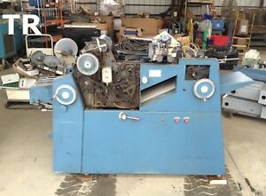 Atf American Type Founders 1117 Offset Printing Press Machine 11 Web