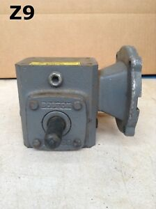 Boston Gear F7105b46 Right Angle C face Gear Drive speed Reducer 0 6hp 5 1
