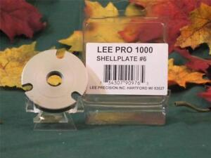 90976 Lee PRO 1000 Shell Plate #6 3220 2520 and similar cases