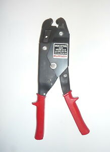 New Burndy Oh25 Hytool Electrical Dieless Ratchet Crimper