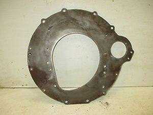 48 49 50 51 52 Ford 6cyl Pickup Truck Transmission Bell Housing Starter Plate