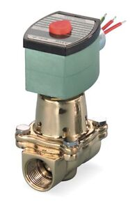 Red Hat Hot Water Solenoid Valve 2 way 2 position Valve Design Normally Closed
