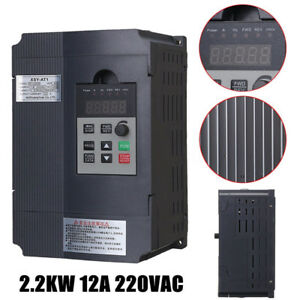 2 2kw Ac 3ph Single Phase Motor Speed Control Variable Frequency Drive Inverter