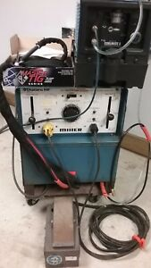 Miller Dialarc 250 Water Cooled Tig Welder Complete Package foot Pedal new Torch