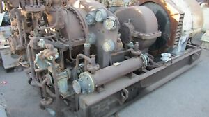 Worthington moore Turbo Generator Set 300kw 6097 1200rpm 240 120vac 125 312a