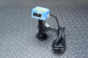 Sick Clv422 1910s02 High Density Laser Barcode Scanner With Stand
