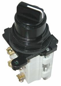 Cutler hammer Non illuminated Selector Switch Size 30mm Position 3 Action