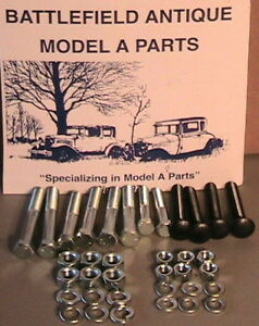 1928 1929 1930 1931 Model A Ford Ratrod Streetrod Body To Frame Mounting Bolts