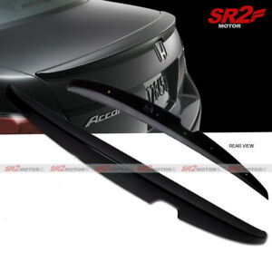 Oe Style Trunk Spoiler Wing Abs Black Fits For 2008 2012 Honda Accord Sedan
