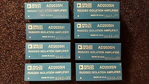 Ad203sn Analog Devices Rugged Isolation Amplifier 10khz 15vdc Usa New 1x