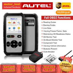Autel Ml529 Obd2 Auto Diagnostic Scan Obdii can Fault Code Reader Tool As Al529