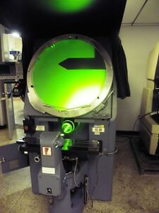 30 Jones Lamson J l Fc30 Optical Comparator With Qc200 Dro