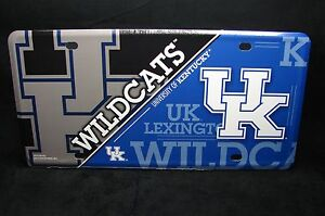 University Of Kentucky Wildcats Metal License Plate For Cars Uk