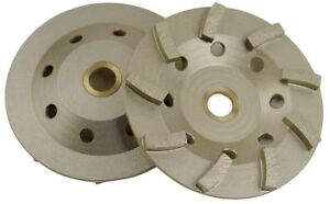 Diamond Vantage 4 Grinding Wheel Cup 5 8 11 Arbor Size Number Of Segments