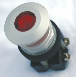 Eaton Illuminated Push Button Operator Red Maintained Push Pull Action