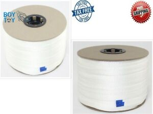 Mule Tape 3 4 Inch 2 500 Lb pull 100 Uv Protected Polyester Pulling Tape