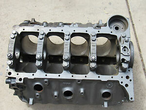 67 Corvette 4 Bolt 427 435 Hp Engine Cylinder Block 3904351 Dated J 1 6 030