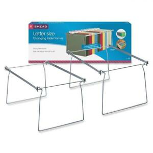 Smead 64872 Hanging Folder Frame Letter Size 23 27 Long Steel pack Of 2