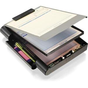 Officemate Recycled Double Storage Clipboard forms Holder Plastic