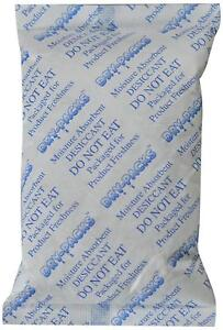 Dry Packs 20105800 112gm 4 pack Silica Gel Desiccant Packet 5 By 3 25 inch