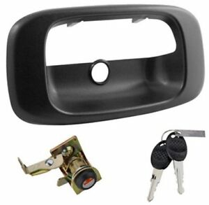 Tailgate Lock Truck Integrated Locking Tailgate Handle For Chevy Gmc Ford Dodge