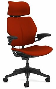Humanscale Freedom Office Desk Chair With Headrest F213 Advanced Adjustable Du