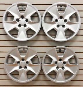 New 2011 2015 Ford Explorer 17 Hubcaps Wheelcover Set