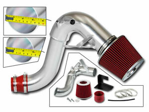 Bcp Red For 11 15 Kia Optima 2 0l L4 Turbo Heat Shield Cold Air Intake Filter