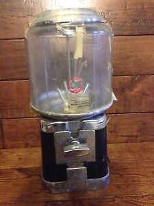 Cheap Old Spare Parts Beaver Gumball Candy Vending Machine With Dime Mech