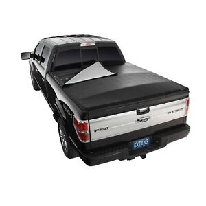 Extang 2936 Blackmax Vinyl Snap Tonneau Cover For Nissan Titan With 66 Bed