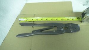 Amp Hand Crimping Tool Awg 18 16 24 20 28 24 Used